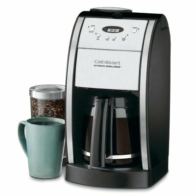 Cuisinart DGB-550BK Unconscious Grind and Brew Coffee Maker, Black