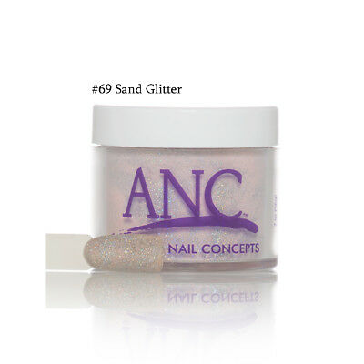 ANC Nail Color Dipping Powder #69 Sand Glitter 2oz](Glitter Sand)
