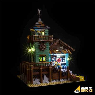 Old-Fishing Store 21310 Lighting Kit (Set not included) by Light my Bricks