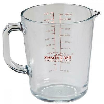Mason Cash Classic Collection Glass 1Lt Measuring Jug