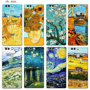 Custodia-Cover-Design-Anukku-Trasparente-Air-Gel-Van-Gogh-Per-Cellulari-Huawei