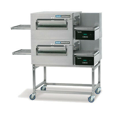 Lincoln 1180-fb2e Electric Express Double Stack Conveyor Oven W Fastbake