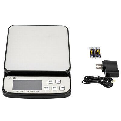 Digital Postal Shipping Tabletop Scale Weight Postage Kitchen Counting