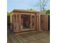NEW summerhouse with side shed