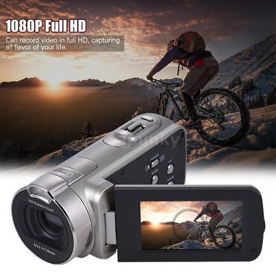 FULL HD 20MP 1080P 16X ZOOM 2.7 LCD Digital Kamera Camcorder DV Videokamera DEU