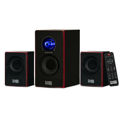 Acoustic Audio Bluetooth Home 2.1 Speaker System for Multime