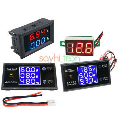Digital Lcd Display Voltage Current Power Voltmeter Ammeter Meter 50100v 5a10a