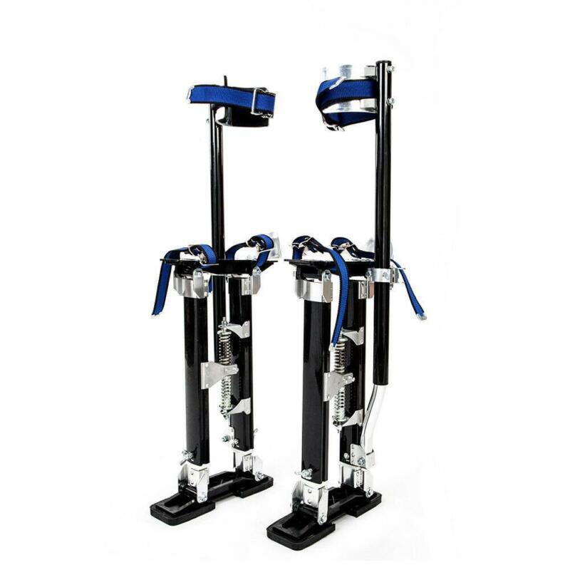 """Drywall Stilts Aluminum Tool Stilt 24""""-40""""  For Taping Painting Painter Black"""