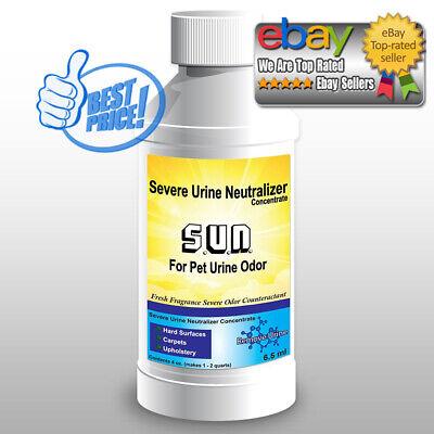 Cat Urine Odor Neutralizer (Urine Neutralizer + Odor Eliminator for Dog and Cat For Furniture, Carpets +More )