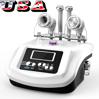 S Shape Electroporation 30k Cavitation Vacuum Suction Fat Burning Beauty Machine