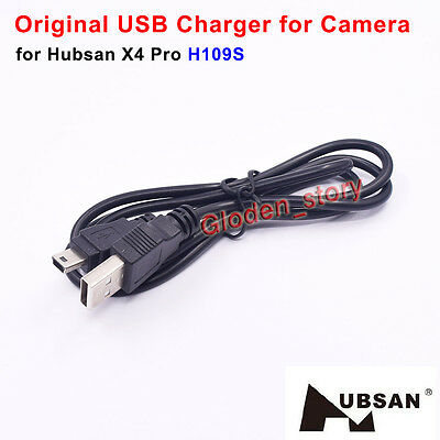 Original Hubsan X4 Pro H109S RC Quadcopter Spare Parts USB Charger for Camera