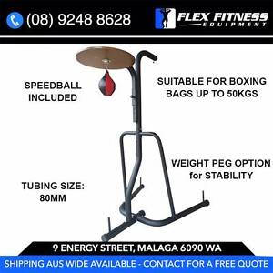 BOXING STAND, 2-IN-1 SPEEDBALL OPTION, NEW, GREAT FOR HOME Malaga Swan Area Preview