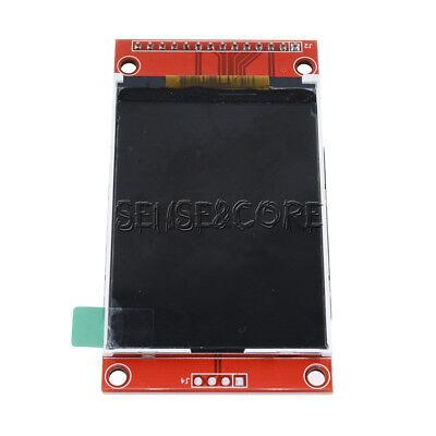 "Gebraucht, 2.4"" SPI 240x320 TFT LCD Serial Port Module with 3.3V PCB Adapter SD ILI9341 gebraucht kaufen  Versand nach Germany"