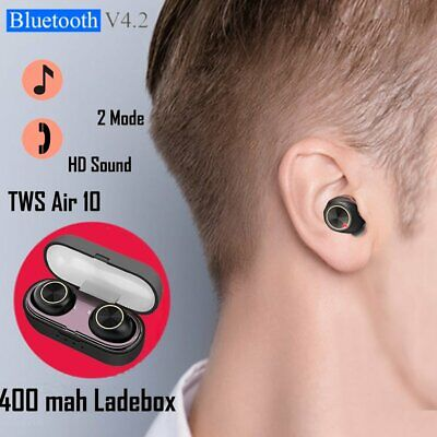 Bluetooth Earphones Wireless Headphones Mini Earbuds Headset Waterproof TWS UK