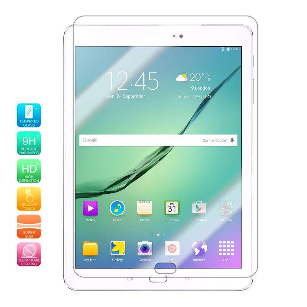 Tempered Glass 9H Screen Protector for Samsung Galaxy Tab A//Tab S2 S3 S4 //Tab E