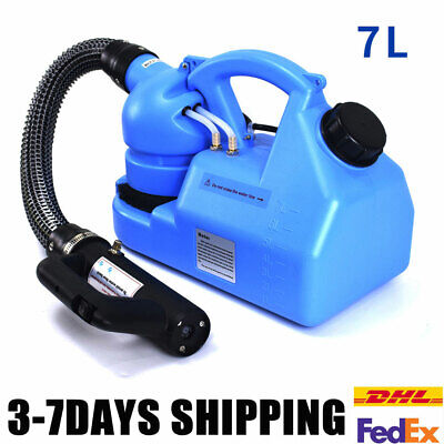 7L ULV Electric Fogger Fogging Machine Disinfection Ultra Low Volume Sprayer