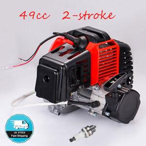 49cc 2-Stroke Engine Motor Pull Start Pocket Mini Bike Scooter ATV Goped Buggy