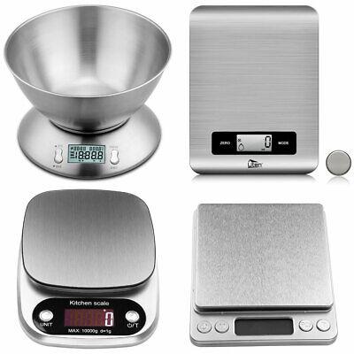 Uten Digitale Küchenwaage Feinwaage Edelstahl Kitchen Scale LCD Haushaltswaage  Küchenwaage