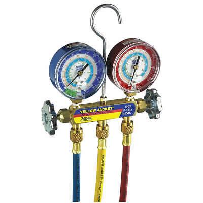 Yellow Jacket 42006 Mechanical Manifold Gauge Set2-valve