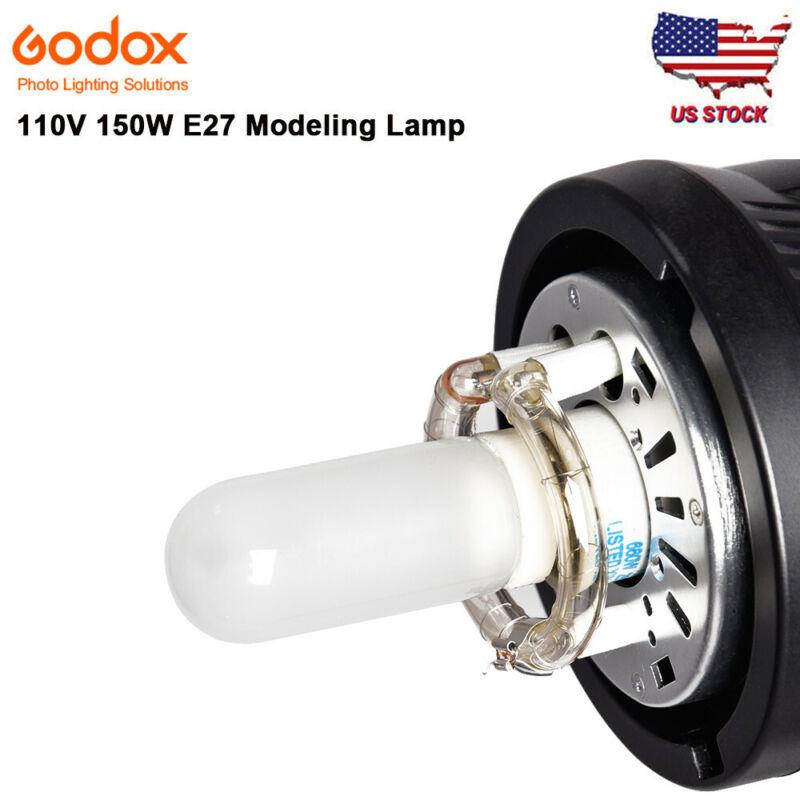 US 110V 150W 2900K E27 Modeling Light Lamp Bulb for SK300II SK400II MS300 Studio