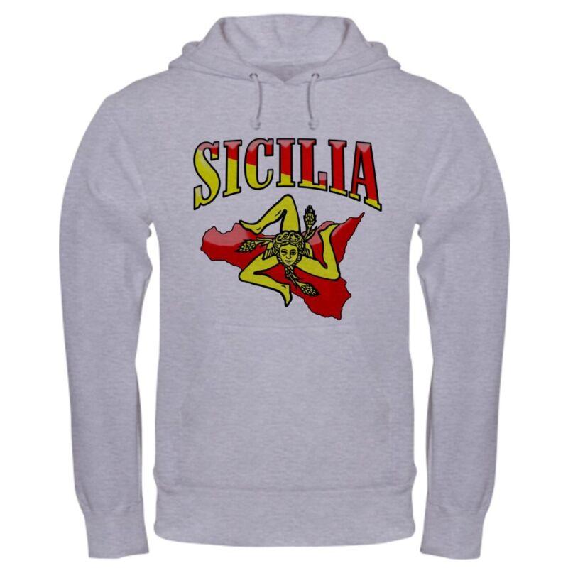 CafePress - Sicilia Sicilian T-Shirts Trinacria Hooded Sweatsh - Sweatshirt