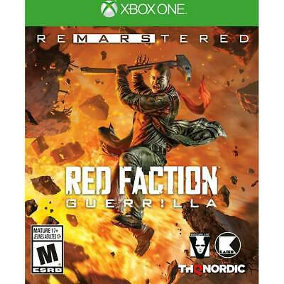 XBOX ONE RED FACTION GUERRILLA  Re-Mars-tered  BRAND NEW VIDEO GAME for sale  Shipping to Nigeria