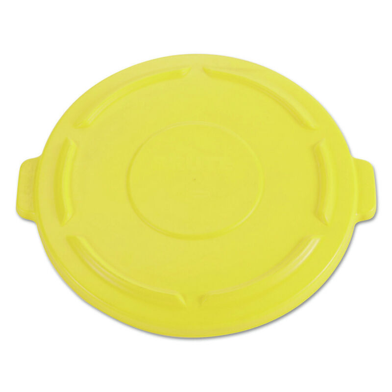 Rubbermaid Commercial 264560YEL BRUTE 32 gal Self-Draining Lid - YEL New