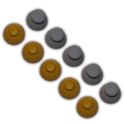 10 Gamecube Thumbstick Caps Replacement Controller Joystick Rubber - 5 Sets