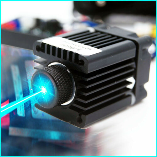 Focusable 488nm 60mW Cyan-Blue Laser Module/488nm Laser Diode/TTL/w/12V Adapter