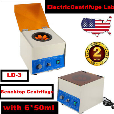 650ml Electric Benchtop Centrifuge Lab Medical Practice 4000rpm Lab With Timer