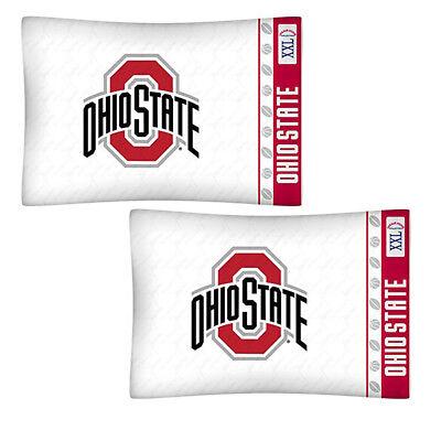 Ohio State Buckeyes NCAA Standard Logo 2 Pillowcases