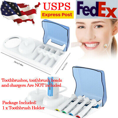 Electric Toothbrush Replacement Heads Charger Holder Stand for Oral B Braun US
