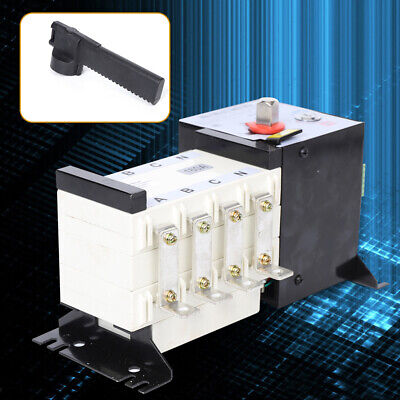 Automatic Transfer Switch 4p 160a Dual Power F Generator Changeover Switch 500v