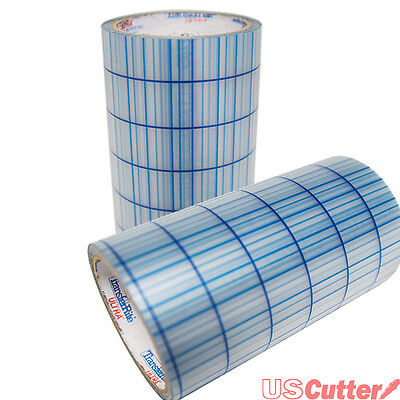 100Yd Clear Transfer Application Tape With Grid  Medium Tack  Size 12    24  New
