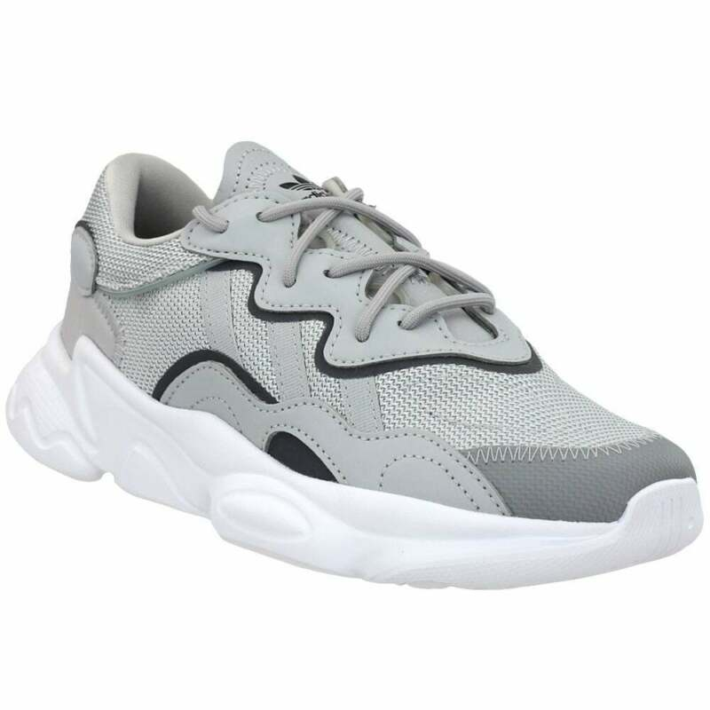 adidas Ozweego Lace Up    Kids Boys  Sneakers Shoes Casual   - Grey