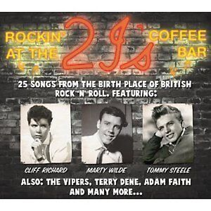 ROCKIN AT THE 2 1'S NEW CD VINCE TAYLOR/VIPERS/TERRY DENE/MARTY WILDE + More