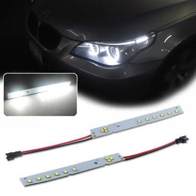 (2X White CREE LED Module For 2008-2010 BMW E60 LCI 5 Series Eyelid Eyebrow Mod)