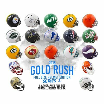 Los Angeles Chargers! 18 Gold Rush FS Helmet S2 1Box Live Break #7