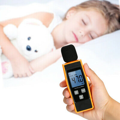 Digital Sound Decibel Meter Pressure Noise Level Tester Measuring 30130db P8c2