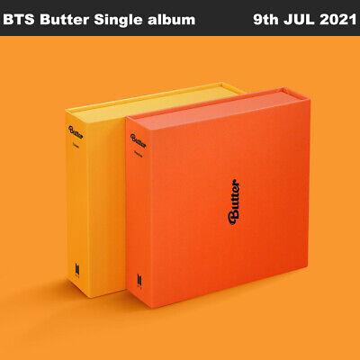 BTS Butter Single album 2SET CD+Photobook+Photocard+Sticker+Etc+Tracking Number