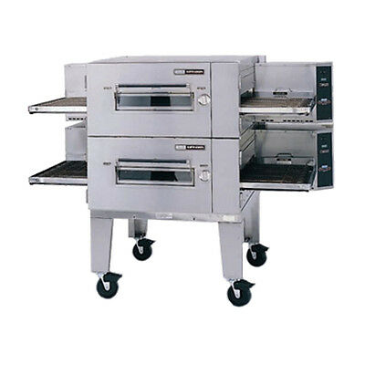 Lincoln 1600-2g Gas Low Profile Double Stack Conveyor Pizza Oven