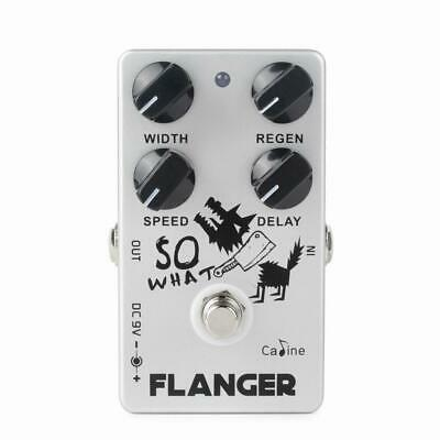 Caline CP-66 So What Flanger Guitar Pedal