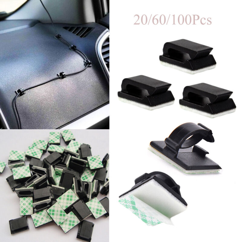 Organizer Clamp Fastener Cable Clip Fixer Holder Buckle Line Wire Management