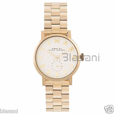 Marc by Marc Jacobs Original MBM3243 Women's Baker Gold-Tone Steel Watch