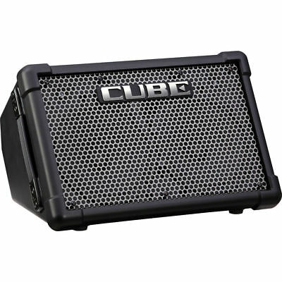 "Roland CUBE Street EX Battery Powered 50W 2x8"" Guitar Combo Amp New"