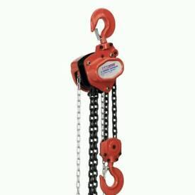 Sealey CB3000 3tonne chain block hoist 3 metres unused