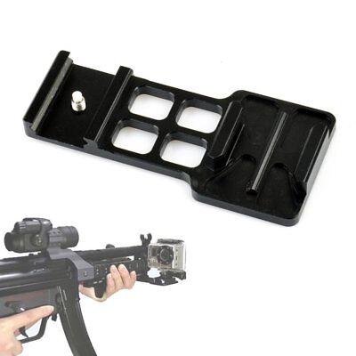 USA GoPro Camera Hero 2 3 4 Cantilever Picatinny Weaver Gun Side Mount 20mm Rail