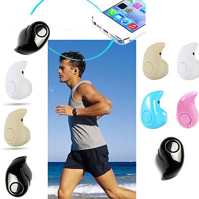Mini Wireless Bluetooth Invisible In-Ear Headset Earphone Earbud Earpiece US - Earphones Earpieces