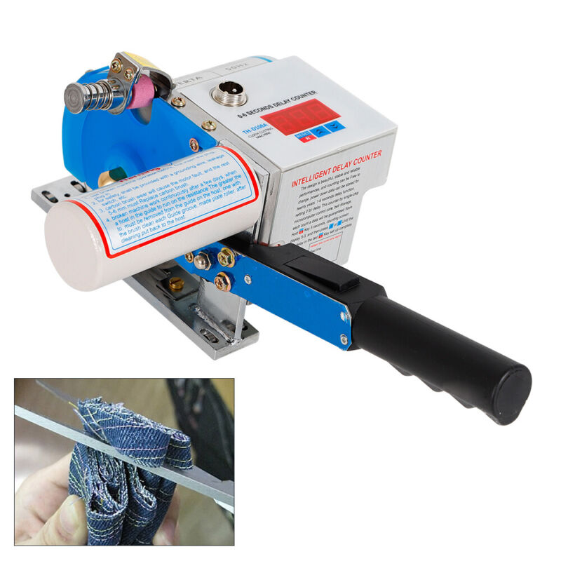 Industrial Fabric Cloth Cutting Machine Cutter Manual End Auto Sharpening Stable