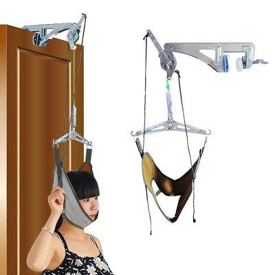 Over Door Neck Cervical Traction Kit Neck Back Stretcher Adjustment Chiropractic ()